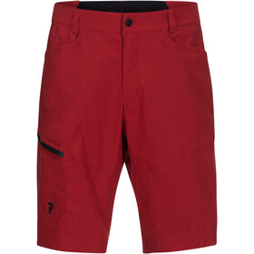 Peak Performance M's Iconiq Long Shorts Chilli Pepper